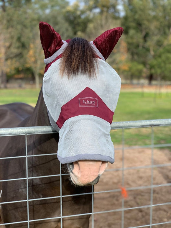 Fly Buster Nose and Ears Fly Mask