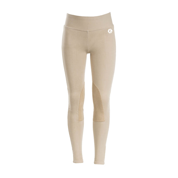Junior Active Tights with Knee Patch - Wanneroo Stockfeeders