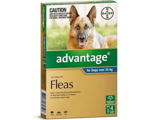 Advantage - Dogs 25kg+