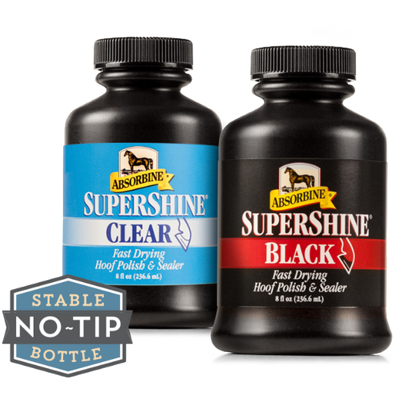 SuperShine Hoof Polish Black - Wanneroo Stockfeeders