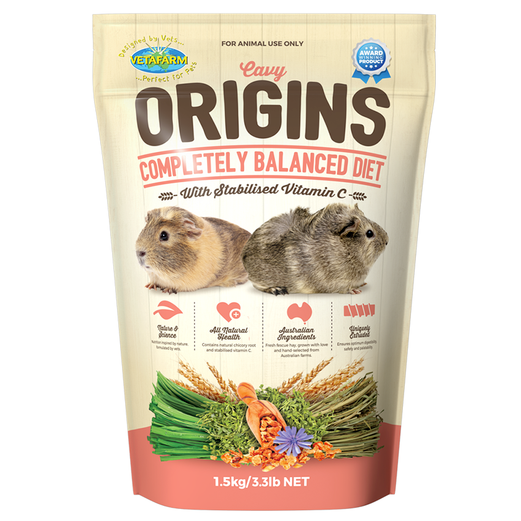Origins Guinea Pig Food - Wanneroo Stockfeeders