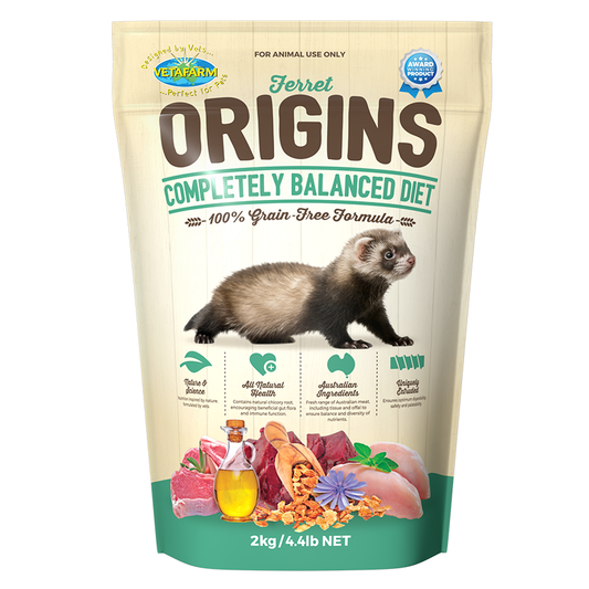 Origins Ferret Food - Wanneroo Stockfeeders