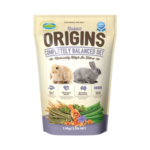 Origins Rabbit Food - Wanneroo Stockfeeders