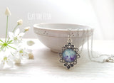 Purple vintage Necklace