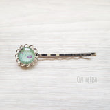 Mint Green Hair Pin
