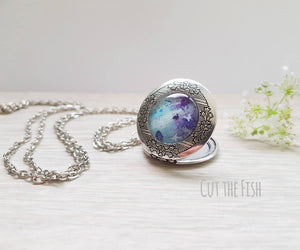 purple locket
