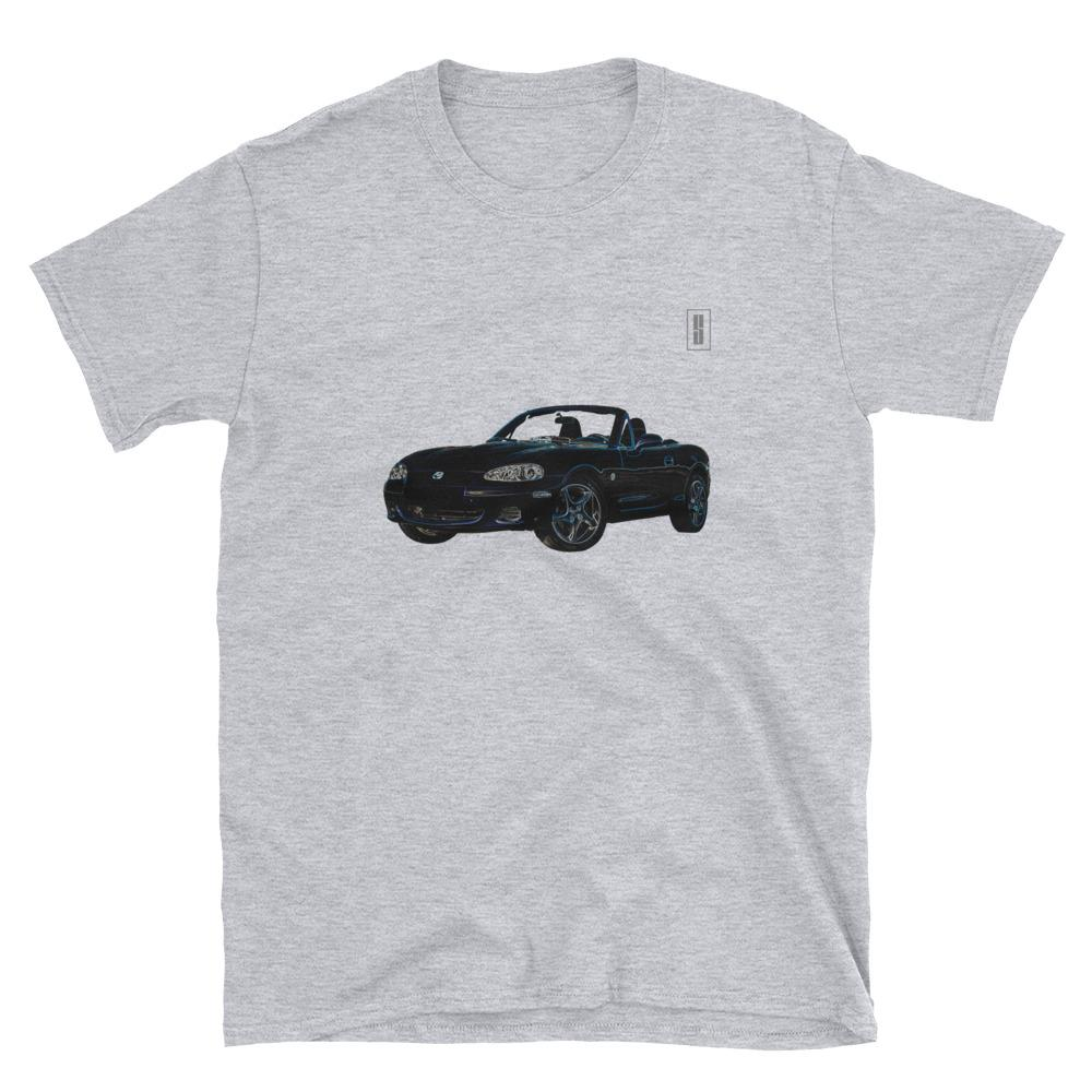 T Shirt Teeshirt Mazda MX5 NB Youngtimers Japan miata is always the answer gris