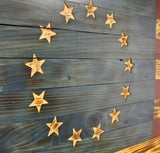 Wooden American Flag Betsy Ross