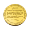 Pro 2nd Amendment Rare Golden Collectors Coin - The United American Mint