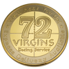 "USMC ""72 Virgins Dating Service"" Collectors Coin"