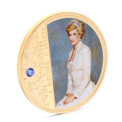 Diana Commemorative Coin Copper Collection Gift Souvenior Memory With Zinc Alloy Drop ship - The United American Mint
