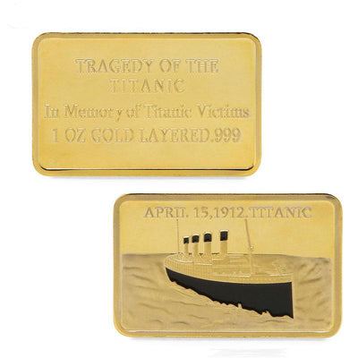 Tragedy of the Titanic Commemorative Coin - The United American Mint