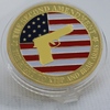 Pro 2nd Amendment Golden Full Color Collectors Coin - The United American Mint