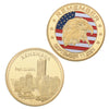 September 11th Gold Tribute Coin - The United American Mint