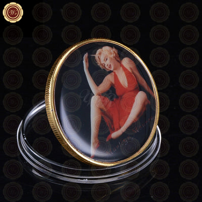 Gold Marilyn Monroe Commemorative Coin - The United American Mint
