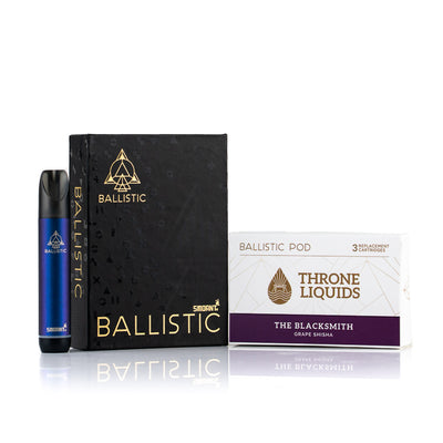 Ballistic Starter Kit BLUE - Throne Liquids