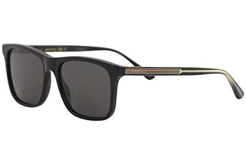 Sunglasses Gucci GG 0381 S- 007 BLACK/GREY: Clothing