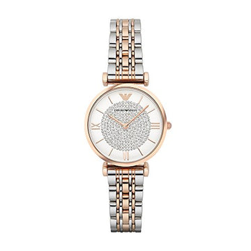 Emporio Armani Women's AR1926 Retro Two Tone Watch: Emporio Armani: Clothing