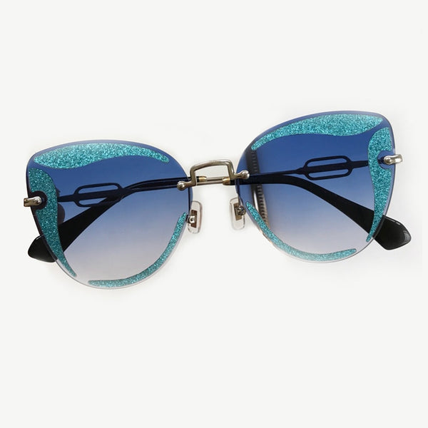 Brand trendy Sunglasses  Cat Eye Sunglasses Women glasses Best sunglasses for Women 2018 UV400 For Free Air Post Shipping