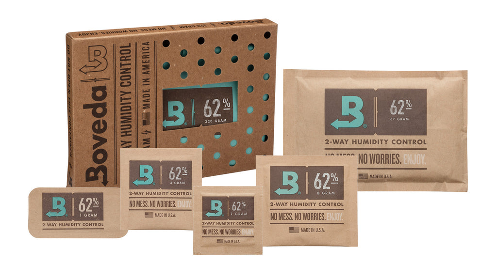Boveda 65% relative humidity line of products