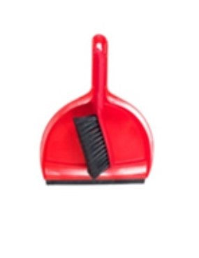 Clip-On Dust Pan and Brush Set
