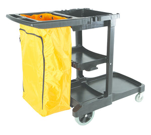 Janitors Cart Heavy-Duty Premium