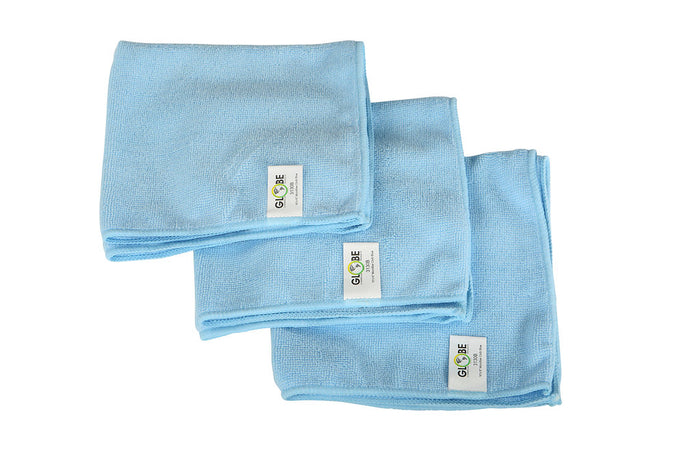 "16""x16"" Microfiber Cloth 240GSM Blue"
