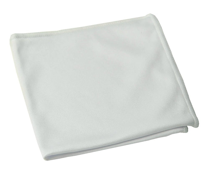 "14""x14"" Microfiber Cloth 240GSM White"