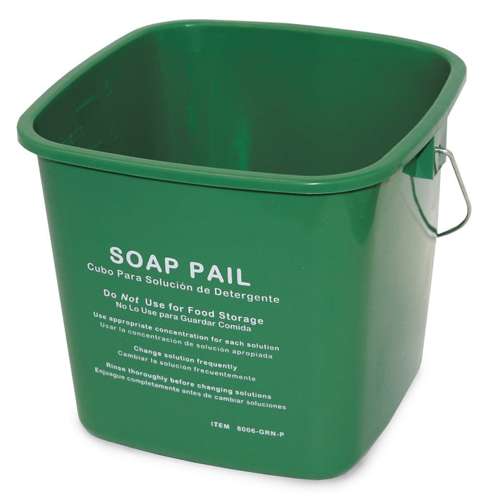 6Qt Cleaning Pail - Green