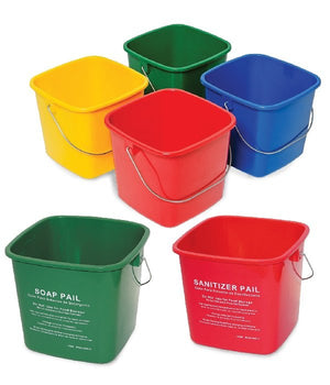 6Qt Sanitizing Pail - Yellow