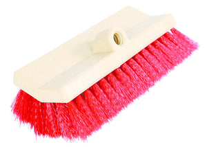 "10"" Bi-Level Brush Stiff Red Fibre"