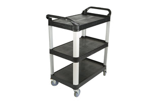 "Utility Cart Small - Black 33""L x 17""W x 37H"