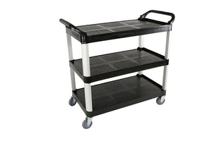 "Utlity Cart Large- Black 40""L x 19.75""W x 37H"