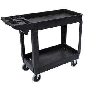 "HD Lipped Utility Cart Medium 550lbs Capacity - 40.7""l x 16.9""w x 33.5""h"