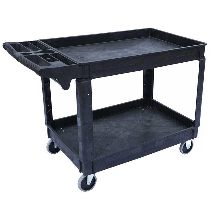 HD Lipped Utility Cart Large 550lbs Capacity - 46-3/4''x 25-1/2''x 33-1/2''