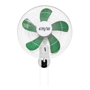 "Active Air 16"" Oscillating Wall Fan"