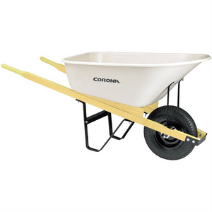 Poly 6 cu ft Wheelbarrow Heavy Duty