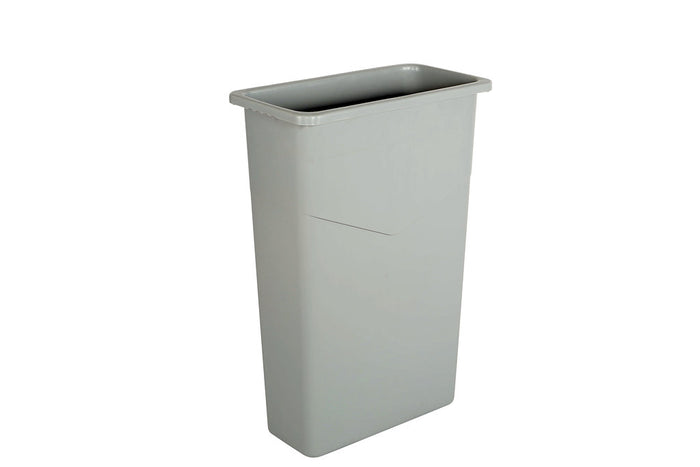 Slim Container 23 Gallon Grey