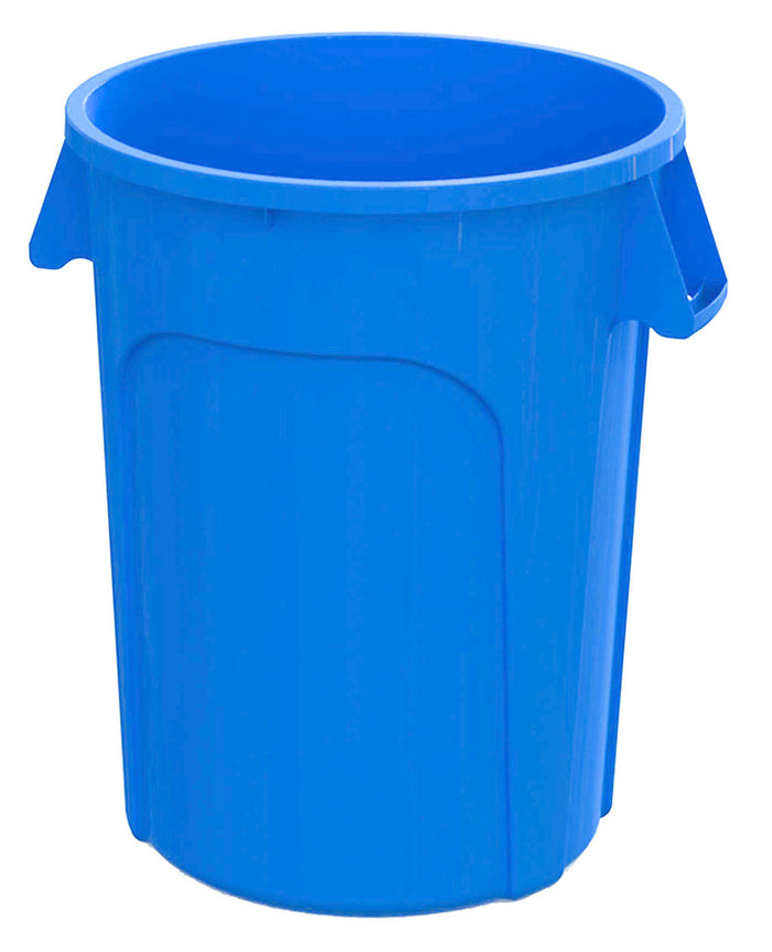 32 gal Waste Container Blue