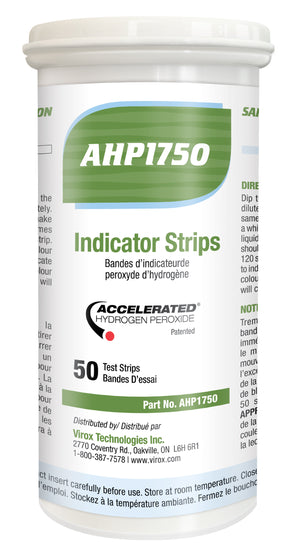 Accelerated Hydrogen Peroxide (AHP) Indicator Strips