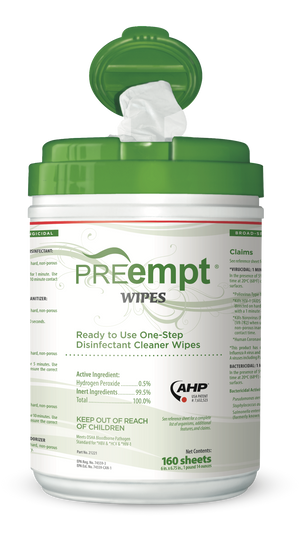 PREempt Ready To Use Wipes