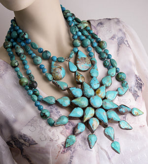 Turquoise Star Collier