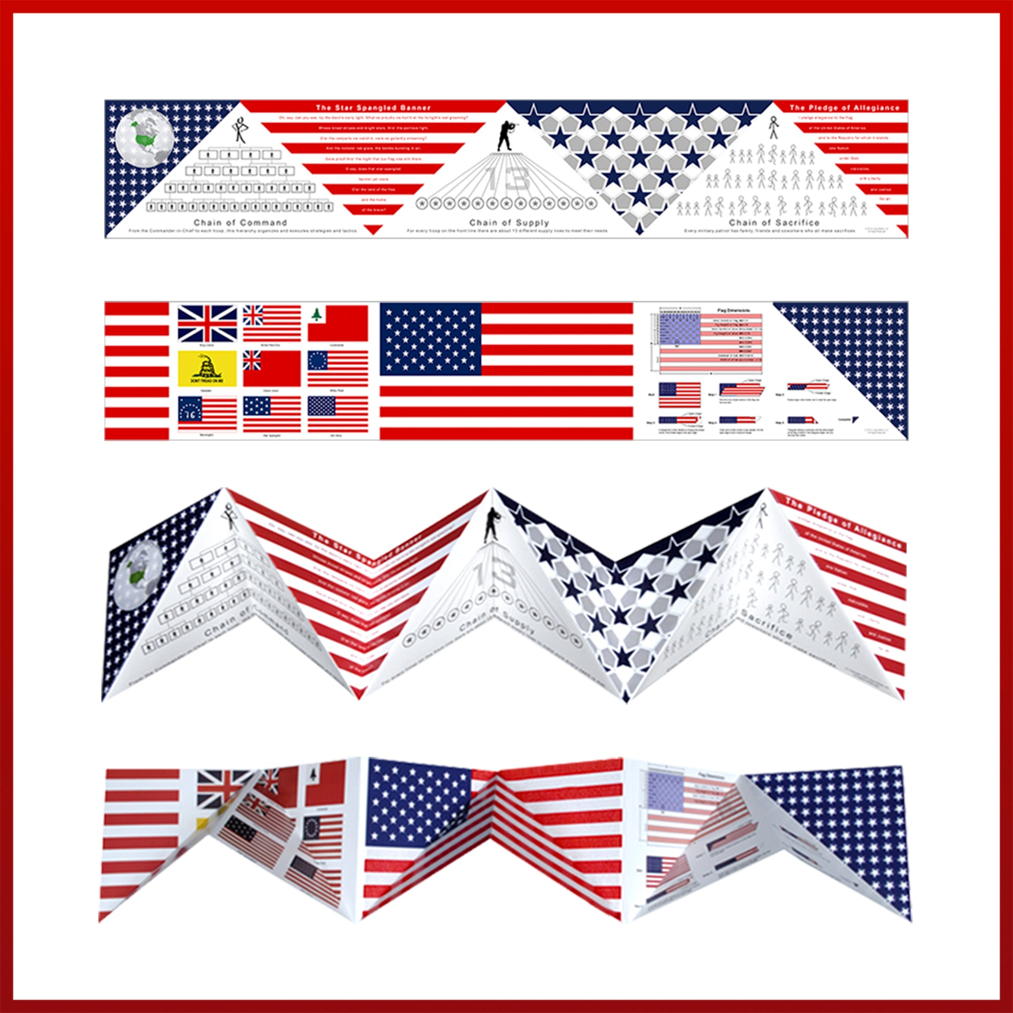 Fold-Out Poster   Living Patriot