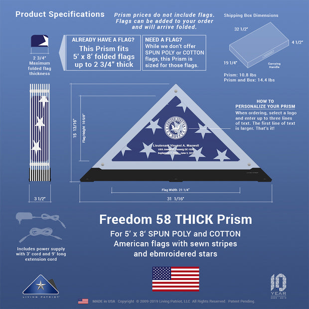 Freedom 58 THICK Prism