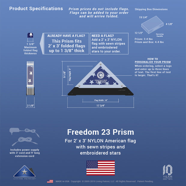 Freedom 23 Prism