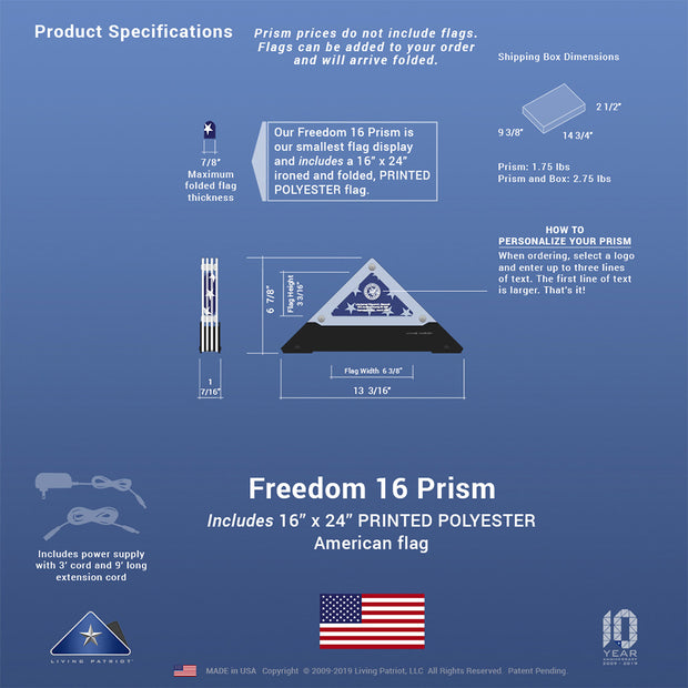 Freedom 16 Prism
