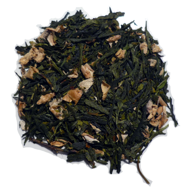 Peppermint Ginger Green - 3 Teas