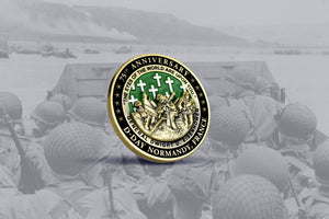 D-Day 75th Anniversary Commemorative Coin