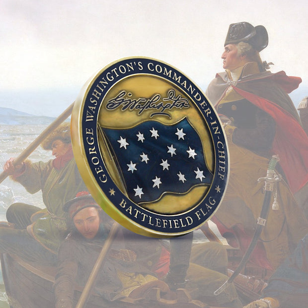 George Washington Battlefield Flag Coin