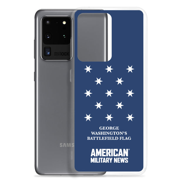 George Washington Battlefield Flag Phone Case